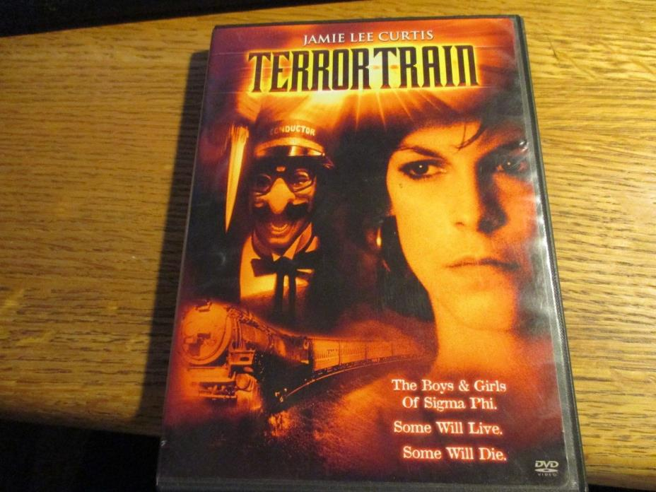 Terror Train (DVD, 2004) Jamie Lee Curtis '80s Slasher Classic!