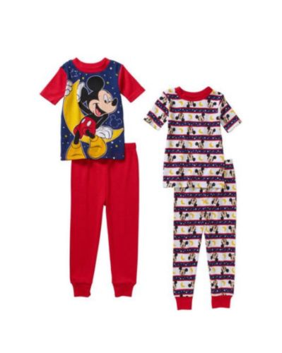 Mickey Mouse Pajama Set, Size 4T
