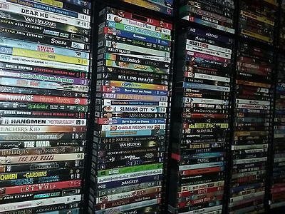 Big Lot of 700 Dvd Movies New and Used