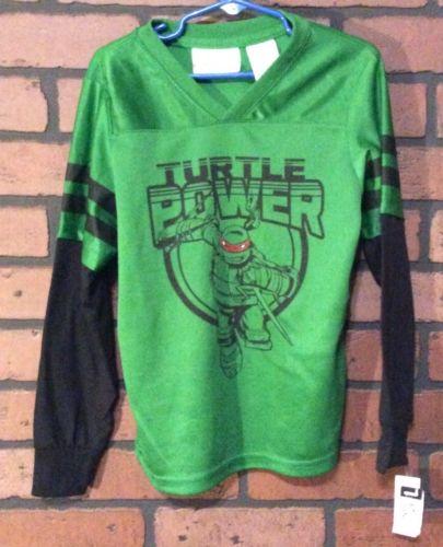 Nickeloden Ninja Turtles Shirt Black Size 3T 100% Polyester Boys Toddler R10