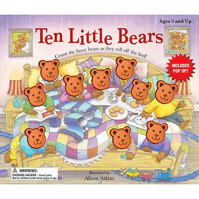 TEN LITTLE BEARS POP-UP BOOK 1CT