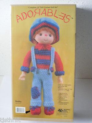 Vtg new Adorables Bobby 16