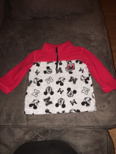 Baby Boys 9 Month Pullover Mickey Mouse Sweater