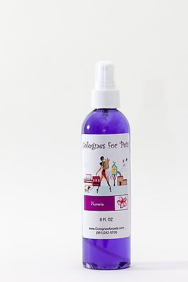 Colognes For Pets Grooming Fur Spray Dog Cat Fragrance PLUMERIA High Quality 8oz