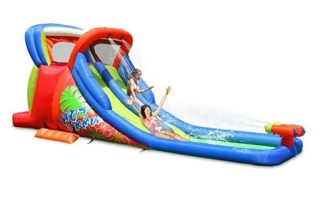Backyard Kids Water Slides Inflatable Bounce Outdoor Birthday Parties Summer New