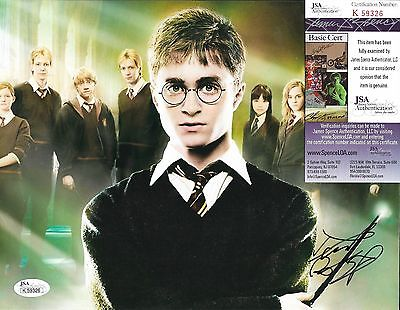 DANIEL RADCLIFFE HARRY POTTER SIGNED AUTOGRAPHED 8X10 PHOTO JSA COA #K59326 RARE