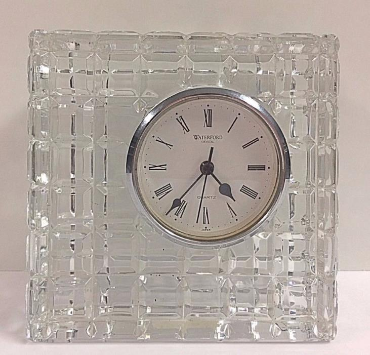 Waterford Crystal square Clock