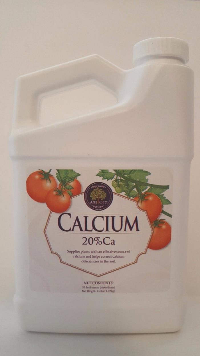 Age Old Organics Liquid Calcium Quart & Gallons