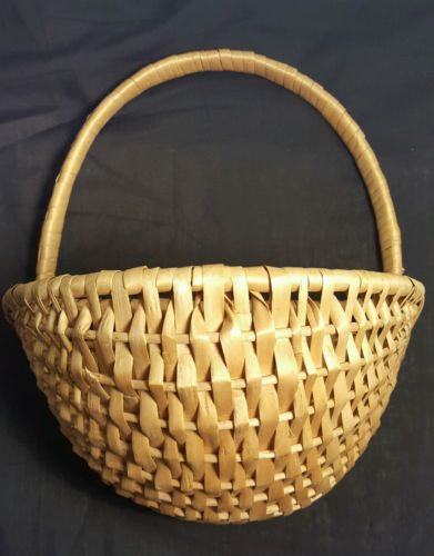 Lovely Large Vintage Wicker Flower Basket