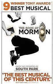 2 Tickets ORCHL Sat. July 1, 2017 2:00 PM - The Book of Mormon W5 & W7
