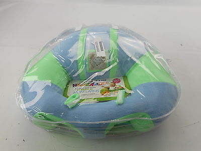 Hugaboo Infant Sitting Chair Snuggle Buns Blue/Green 3-11 Months