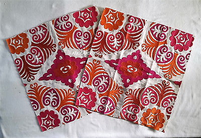 EXOTIC & ETHNIC CHIC  WOVEN EMBROIDERED FABRIC REMNANTS 16