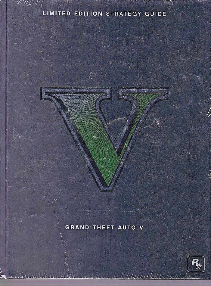 Grand Theft Auto V Limited Edition Strategy Guide Hard Cover Sealed 2013