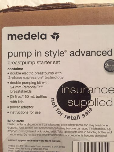 Medela Pump In Style Advanced NEW