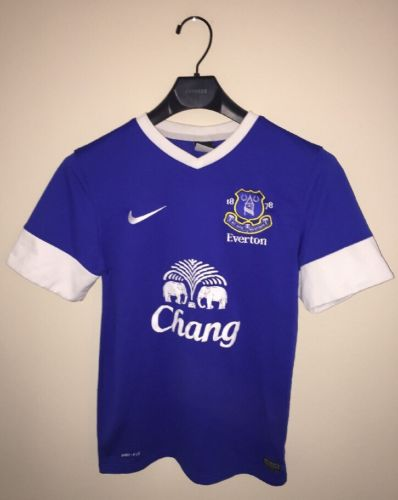 Nike Everton FC Soccer Jersey Youth Small England Women's