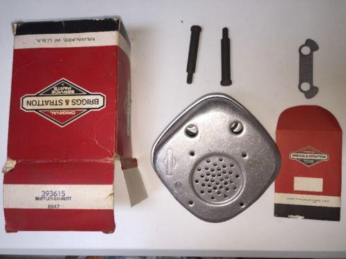 OEM Briggs & Stratton Engine Exhaust Muffler 393615
