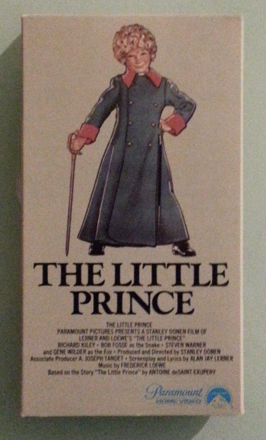 gene wilder   THE LITTLE PRINCE  richard kiley  VHS VIDEOTAPE