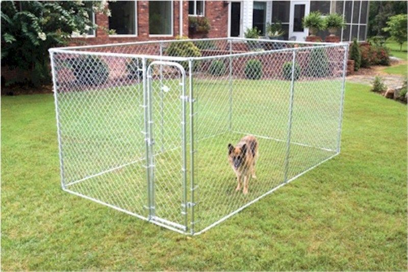 Petsafe Boxed Kennel Chain Link Fence Pet Supplies Dog Run Cage Gate Crate Steel