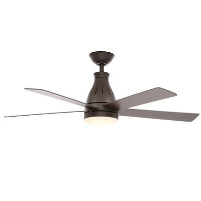 Hampton Bay Cobram 48 in. Oil Rubbed Bronze Ceiling Fan with Light