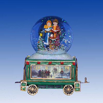 THOMAS KINKADE We Wish You a Merry Christmas Wonderland Express Train #7 NEW