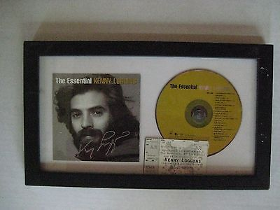Kenny Loggins The Essential Kenny Loggins CD and Autographed Insert