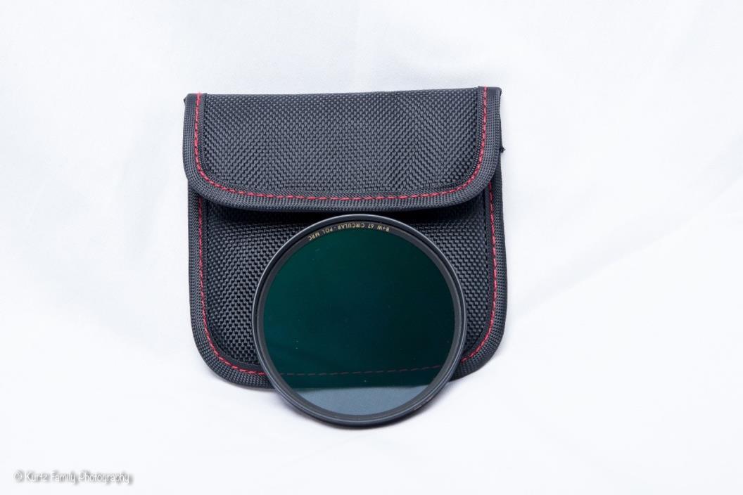 B+W 67mm Circular Polarizer F-pro CPL w/Storage Pouch