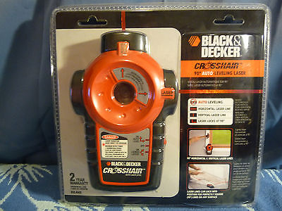 Black and Decker Crosshair 90-Degree Auto Leveling Laser BDL400S - NIB