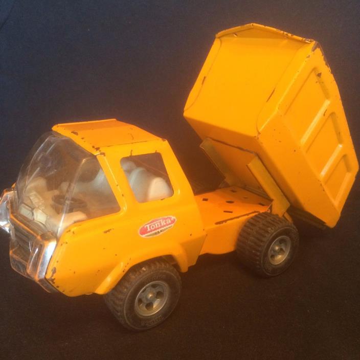 Tonka Mini Dump Truck 1970's Orange