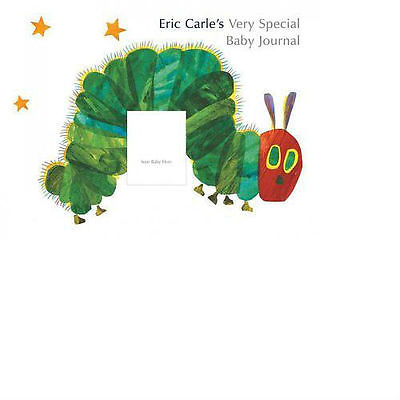 Eric Carle's VERY SPECIAL BABY JOURNAL Scrapbook Album Hungry Caterpillar 9x12