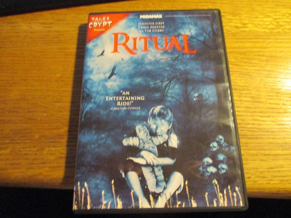 Tales From the Crypt Presents Ritual DVD OOP Jennifer Grey, Tim Curry horror!