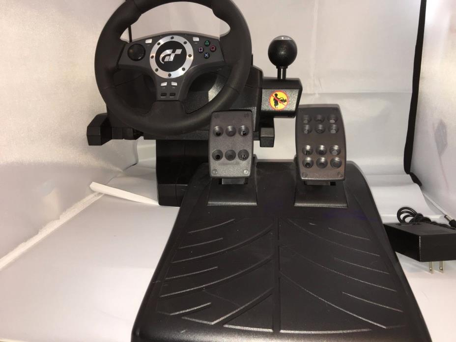 LOGITECH GT FORCE WHEEL/PEDALS FOR Playstation 2 / 3