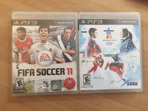 NEW AND USED PLAY STATION PS3 FIFA SOCCER 11 VANCOUVER 2010 SPORT GAMES