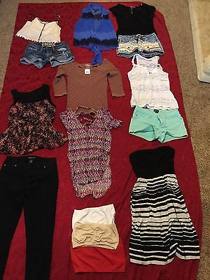 Lot of Junior Girls Clothes Sz S/XS Free People, Hydraulic, INC, Lauren Conrad