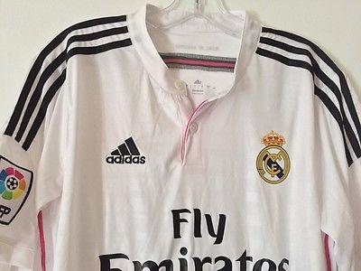 Real Madrid JAMES #10, Soccer Jersey, short sleeve,  XLarge,  Men. 100%