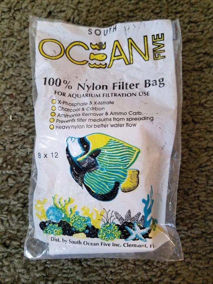 Ocean Five Nylon Aquarium Filter Bag