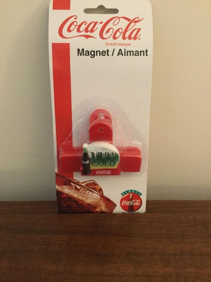 Coca Cola Refrigerator Clip Magnet COKE