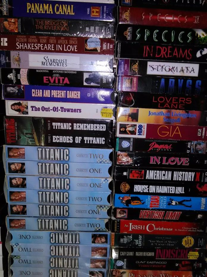 300 Vhs Tapes - For Sale Classifieds