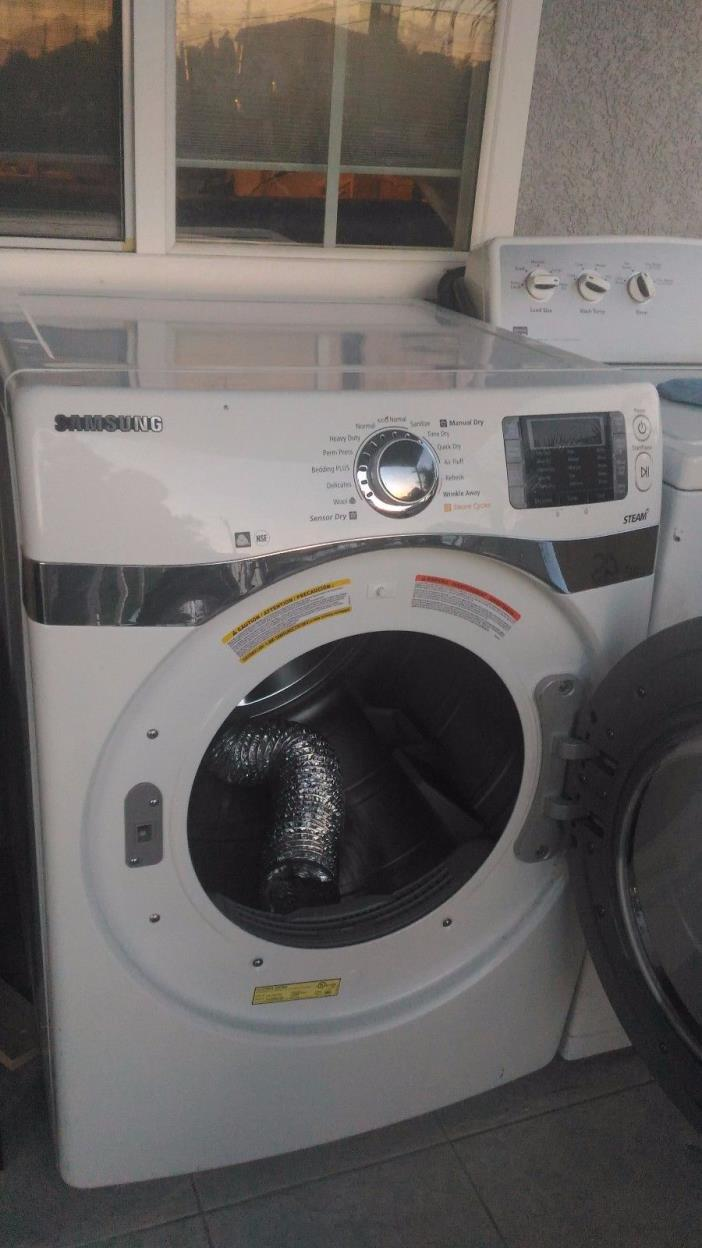7.5 Cu ft SamsungElectric Dryer - Front Load Work Perfectly - Shape condition