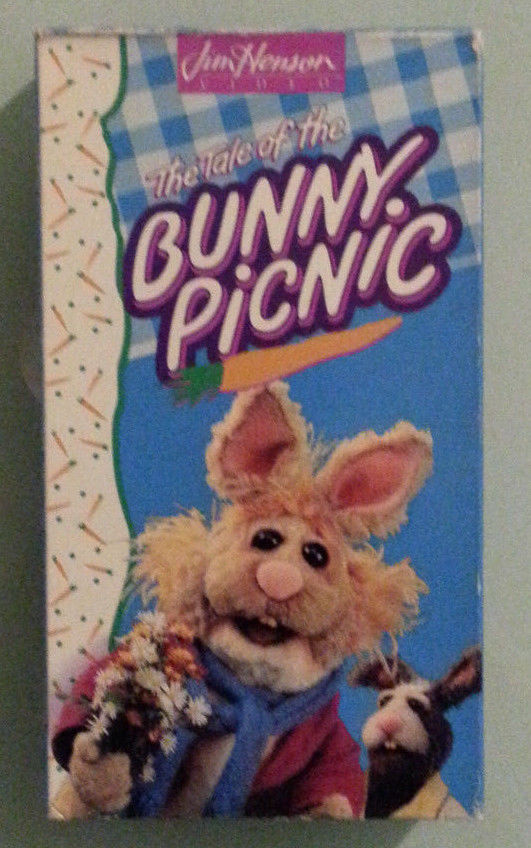 jim henson muppet bunnies  THE TALE OF THE BUNNY PICNIC VHS VIDEOTAPE