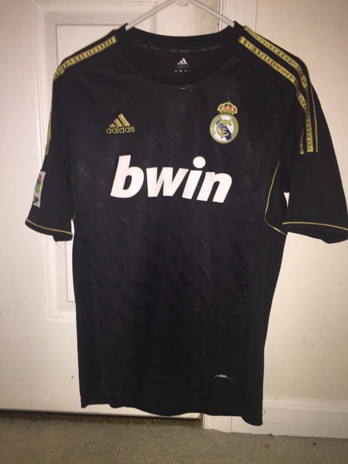 4.7/5 REAL MADRID 2011~2012 ORIGINAL FOOTBALL SOCCER AWAY JERSEY SHIRT ADIDAS