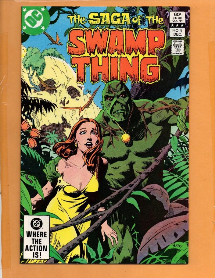 Saga Of The Swamp Thing #8 1982 NM to NM+