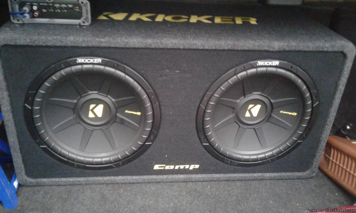 New stereo system