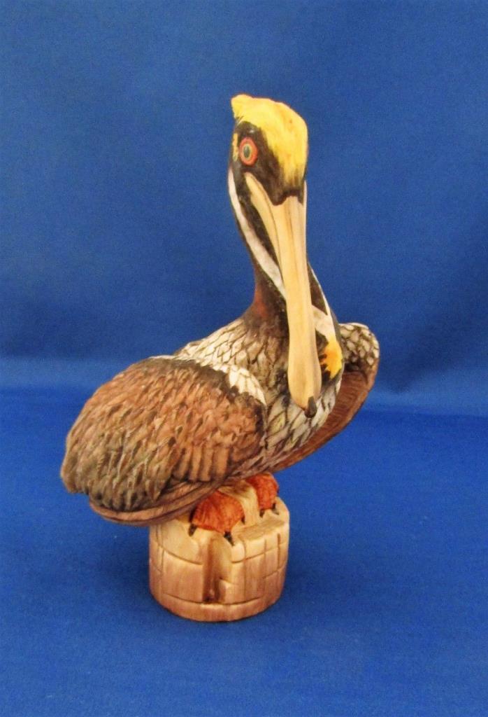 Boehm Brown Pelican Porcelain Figurine #40295 USA