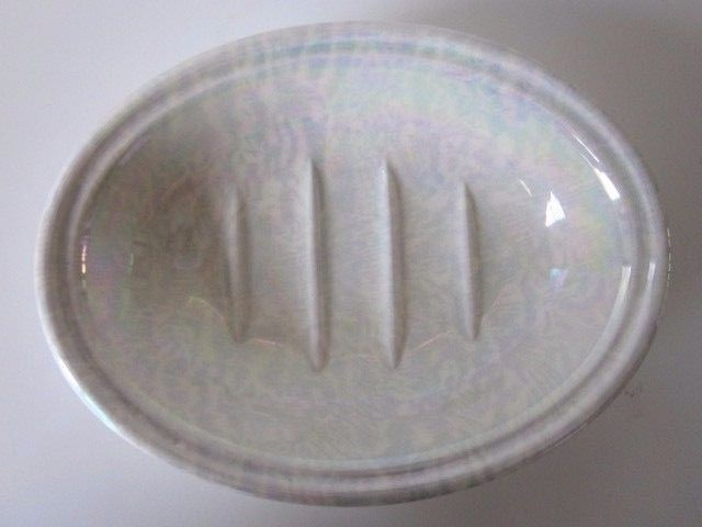 Crabtree and Evelyn  Pearlized/Opalescent Soap Dish