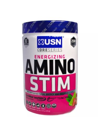 USN Supplements - Core Series Energizing Amino Stim Strawberry Limeade Exp 9/18