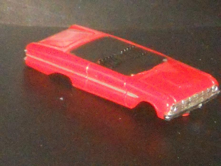 VINTAGE AURORATJET #1354 63 FORD FALCON SPRINT BODY HO SLOT CAR NICE