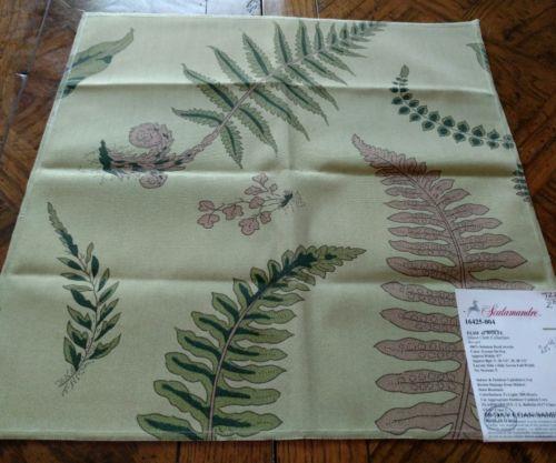 SCALAMANDRE Fabric Remnant - ELSIE de WOLFE - Indoor/Outdoor 18 x 18 - $205