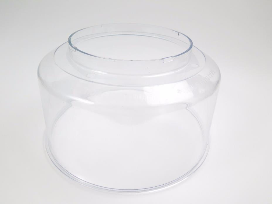 Nuwave Pro Infrared Oven Plastic Acrylic DOME ONLY (Replacement Part) Cover Lid
