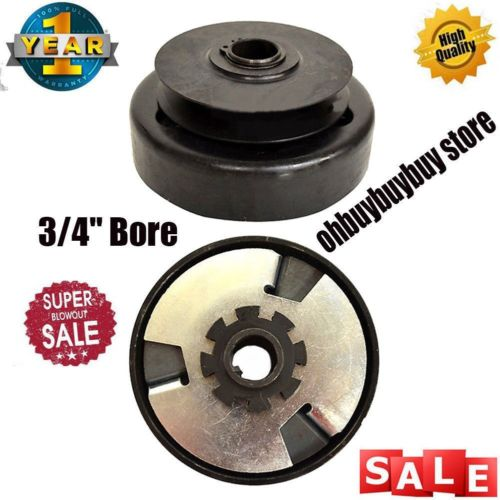 Extreme Duty Centrifugal Clutch Pulley 3/4