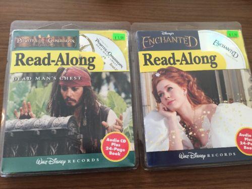 2 read along Pirates Of The Caribbean Enchanted Audio CD/book Disney